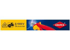 Магнитная полоска для перфорированного стенда 00 19 30 18 00193018 KNIPEX