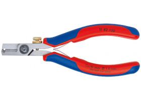 KN-1182130 Ножницы-щипцы для удаления изоляции KNIPEX